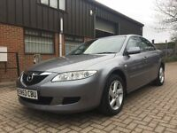 2004 (53) Mazda 6 TS 1.8/1 owner/Low mileage 74k/2 remote keys/long MOT/Excellent Condition - £595