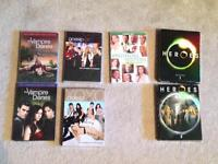 Gossip Girl, Vampire Diaries, Brothers and Sisters and Heros
