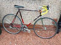 Dawes Sterling, road bike for sale, reynolds 531 frame, very light.