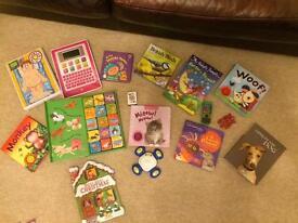 Large storage box full of girls toys