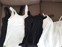 Bonds Nursing / maternity vests x5