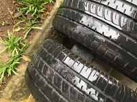 2 X 205/45/R17 Runflat tyres for Mini Cooper etc