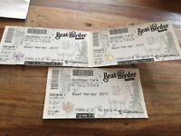 3 x Beatherder tickets (ALL TICKETS NOW SOLD)
