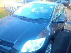Toyota Auris, Black 5 door, second lady owner, low mileage