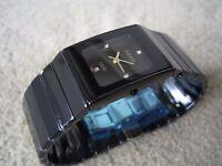 RADO CERAMICA Men's watch NEW**NOT Rolex Hublot Breitling Tag Heuer Omega Cartier Gucci Mont Blanc