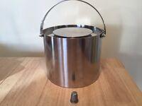Vintage Danish stainless steel ice bucket