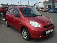 Nissan Micra VISIA (red) 2012-03-26