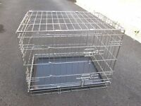 Dog cage ideal for puppy or small dog