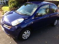 2004 54reg Nissan Micra 1.2 S Blue Full History 12 Months MOT CD HPi Clear £895 Great Value