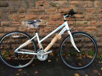 New Dawes Discovery 101 Low Step 2020 Womens Hybrid Bike - White RRP £319.99