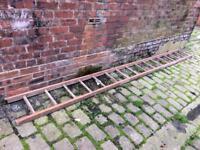 Wooden ladder £20