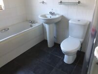 Bathroom suite ideal standard in white complete taps etc