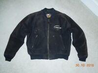 Vintage Mens Harley Davidson Suede Jacket