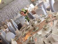 BaRgAiN Wedding decoration, chairs covers, centerpieces FULL Package OFFER