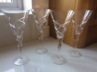 Wine Glasses Excellent Condition
