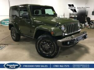 2016 Jeep Wrangler Heated Seats, Air Conditioning