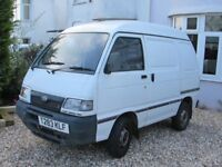Daihatsu Hijet van, 12 months MOT, very reliable. Slightly tatty as you would expect for its age.