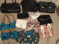 Selection of girls/ womens bags