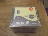 10-pack MAXELL 626001 12x Speed CD-RW discs in 10mm Jewel Cases - new - cheaper than eBay & Amazon