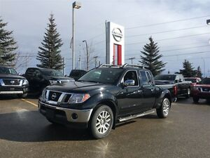 2013 Nissan Frontier SL CREW CAB 4X4 LEATHER NAVI