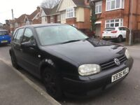 VW Golf Mk4 Repair or Spares
