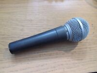 Shure SM58 Professional Dynamic Vocal Microphone