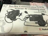 Radio Shack Walkie-Talkie