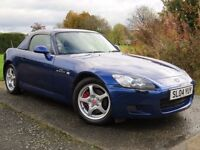 !!GT!! 2004 HONDA S2000 2.0 AP2 / FULL SERVICE HISTORY / 7 HONDA STAMPS / IMMACULATE / DRIVES GREAT