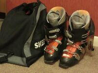 HEAD Edge10 Ski boots - Size 27/27.5 - Used but plenty of use left - Great Quality Boots + Bag