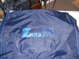 ZetaM sturdy portable massage table and carry bag with shoulder strap