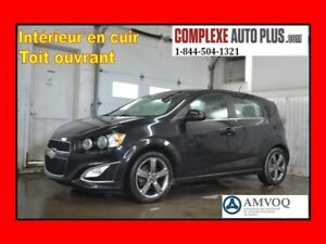 2015 Chevrolet Sonic RS Turbo *Cuir,Toit ouvrant,Camera