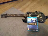 Guitar hero 5 and guitar for wii u