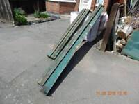 Timber suitable for greenhouse base