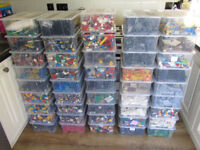 LEGO HUGE COLLECTION APPROX 90KG