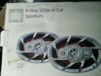 Ministry of sound 4 way 350w speaker