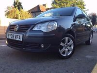 2009 Volkswagen POLO 1.2 Match 5dr , Low Mileage,Low insurance & Road Tax , 11 Months MOT,HPI Clear