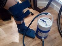 Air Cast Cyro Cuff - Knee and Ankle Cryo Cuff with Cryo Cuff Cooler - retails for over £200 new