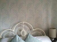 **3 Full unused rolls of Beautiful Laura Ashley Wallpaper** £60 ONO