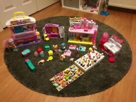 Shopkins Happy Places large bundle , House and lots of figures.
