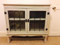 Vintage shabby chic books case / display unit/hallway furniture