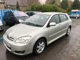 2006 TOYOTA COROLLA 1.4 VVTI 5 DOOR MOT JULY 18