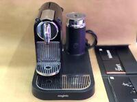 Nespresso CitiZ by Magimix M190 coffee machine with aeroccino milk frother