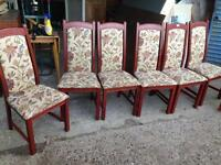 Dining table x8 chairs