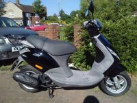 2006 Piaggio ZIP 50 scooter, 4 stroke engine, new 1 year MOT, good condition, learner moped, bargain