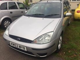 Ford focus 2003 1.6 petrol automatic