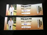 2 standard tickets for the adam meets fousey tour show