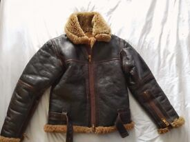 Genuine Irvin WW2 style Sheepskin Jacket