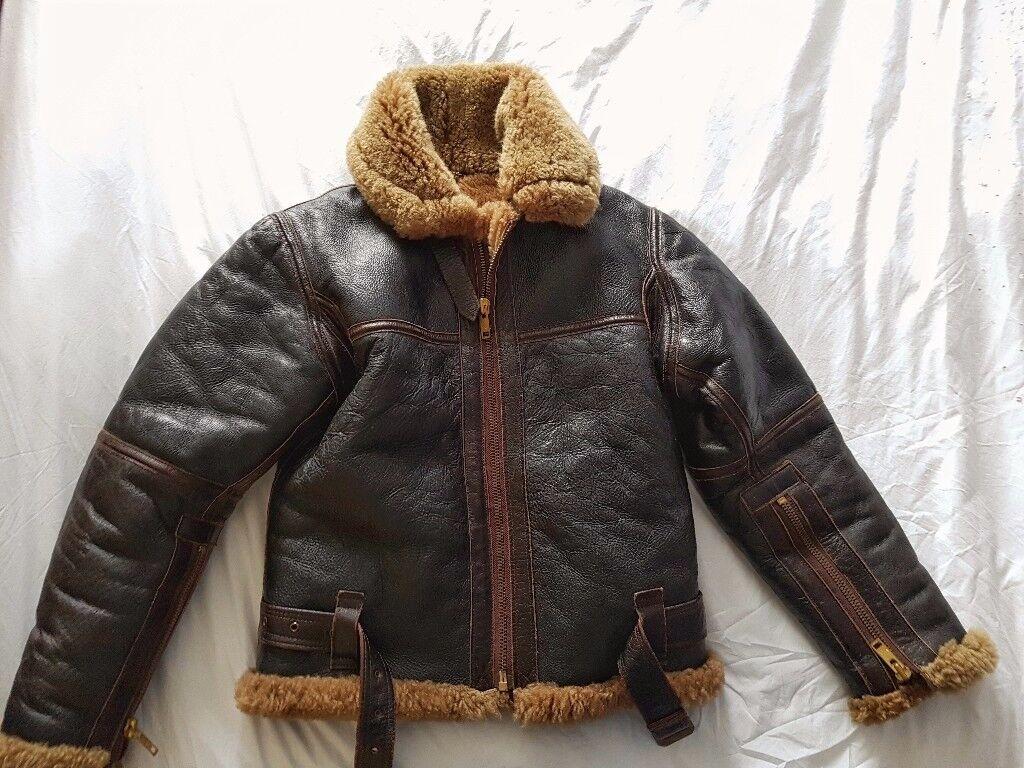 Genuine Irvin WW2 style Sheepskin Jacket