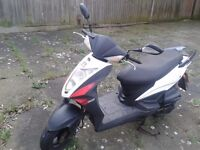 Kymco Agility 125 RS, 2012 with only 6.000 miles
