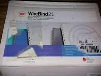 Office wire bind